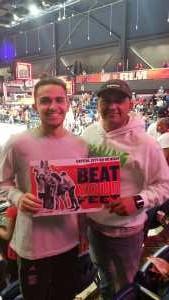 Bartolo attended Washington Mystics vs. Dallas Wings - WNBA on Sep 6th 2019 via VetTix