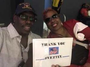 ELLIOTT attended Washington Mystics vs. Dallas Wings - WNBA on Sep 6th 2019 via VetTix