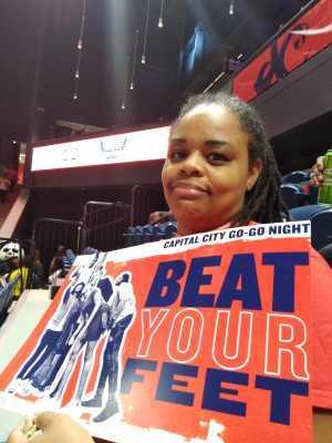 Britt attended Washington Mystics vs. Dallas Wings - WNBA on Sep 6th 2019 via VetTix