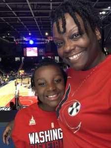 Tonia attended Washington Mystics vs. Dallas Wings - WNBA on Sep 6th 2019 via VetTix