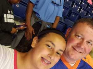Aaron attended Washington Mystics vs. Dallas Wings - WNBA on Sep 6th 2019 via VetTix