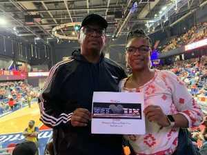 Gervais attended Washington Mystics vs. Dallas Wings - WNBA on Sep 6th 2019 via VetTix