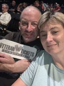 Adron attended Toby Keith W/ Kyle Parks & Jon Wolfe - Theatre at Grand Prairie - Reserved Seats on Sep 5th 2019 via VetTix