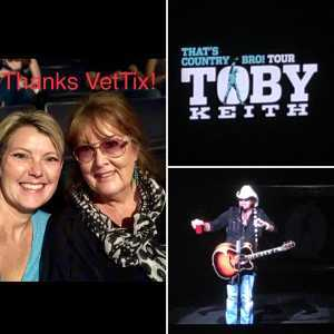 Charles attended Toby Keith W/ Kyle Parks & Jon Wolfe - Theatre at Grand Prairie - Reserved Seats on Sep 5th 2019 via VetTix