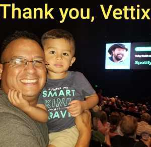 Ramiro attended Toby Keith W/ Kyle Parks & Jon Wolfe - Theatre at Grand Prairie - Reserved Seats on Sep 5th 2019 via VetTix
