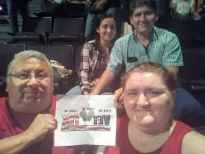 Roque attended Toby Keith W/ Kyle Parks & Jon Wolfe - Theatre at Grand Prairie - Reserved Seats on Sep 5th 2019 via VetTix