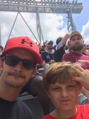 William attended Virginia Tech Hokies vs. Old Dominion - NCAA Football on Sep 7th 2019 via VetTix