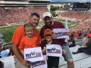 Ben J attended Virginia Tech Hokies vs. Old Dominion - NCAA Football on Sep 7th 2019 via VetTix