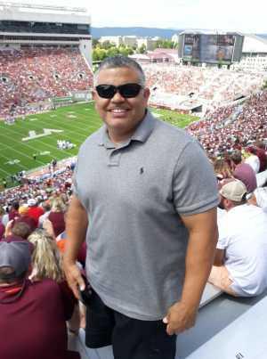 Monte attended Virginia Tech Hokies vs. Old Dominion - NCAA Football on Sep 7th 2019 via VetTix