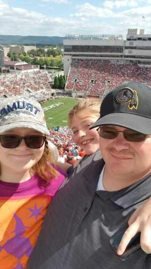Gerald attended Virginia Tech Hokies vs. Old Dominion - NCAA Football on Sep 7th 2019 via VetTix
