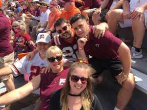 Douglas attended Virginia Tech Hokies vs. Old Dominion - NCAA Football on Sep 7th 2019 via VetTix