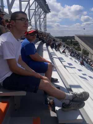 Bobby attended Virginia Tech Hokies vs. Old Dominion - NCAA Football on Sep 7th 2019 via VetTix