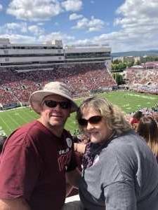 Shawn attended Virginia Tech Hokies vs. Old Dominion - NCAA Football on Sep 7th 2019 via VetTix