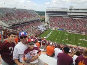 John attended Virginia Tech Hokies vs. Old Dominion - NCAA Football on Sep 7th 2019 via VetTix
