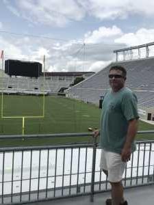 Donald attended Virginia Tech Hokies vs. Old Dominion - NCAA Football on Sep 7th 2019 via VetTix