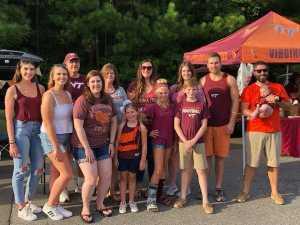 Nicholas attended Virginia Tech Hokies vs. Old Dominion - NCAA Football on Sep 7th 2019 via VetTix