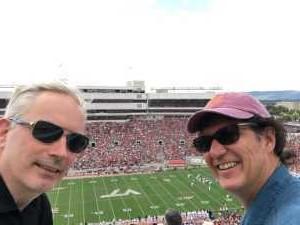 Beth attended Virginia Tech Hokies vs. Old Dominion - NCAA Football on Sep 7th 2019 via VetTix