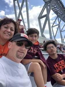 Brian D May attended Virginia Tech Hokies vs. Old Dominion - NCAA Football on Sep 7th 2019 via VetTix