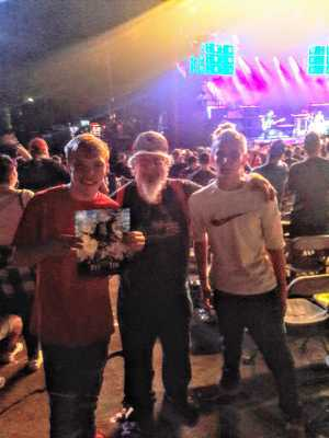 kevin attended Blink-182 & Lil Wayne on Sep 8th 2019 via VetTix