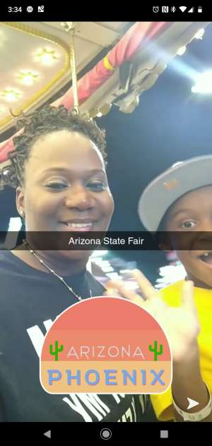 Alexia attended Arizona State Fair - Armed Forces Day - Valid October 18th Only on Oct 18th 2019 via VetTix