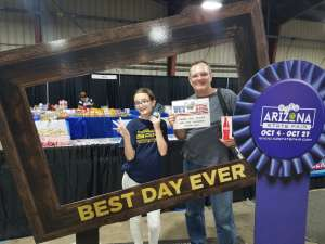 Mike  Jr attended Arizona State Fair - Armed Forces Day - Valid October 18th Only on Oct 18th 2019 via VetTix