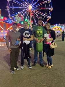 William attended Arizona State Fair - Armed Forces Day - Valid October 18th Only on Oct 18th 2019 via VetTix