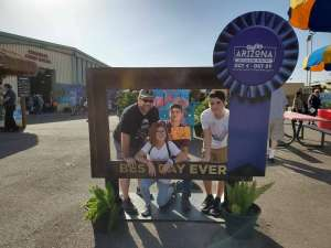 Brandon attended Arizona State Fair - Armed Forces Day - Valid October 18th Only on Oct 18th 2019 via VetTix