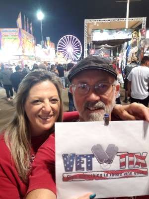 Fern attended Arizona State Fair - Armed Forces Day - Valid October 18th Only on Oct 18th 2019 via VetTix