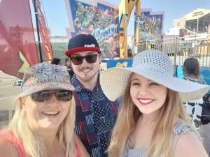 James attended Arizona State Fair - Armed Forces Day - Valid October 18th Only on Oct 18th 2019 via VetTix