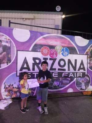 Barry attended Arizona State Fair - Armed Forces Day - Valid October 18th Only on Oct 18th 2019 via VetTix