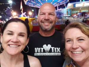 christopher attended Arizona State Fair - Armed Forces Day - Valid October 18th Only on Oct 18th 2019 via VetTix