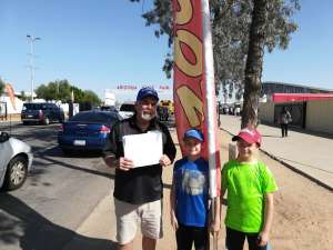 Hal  attended Arizona State Fair - Armed Forces Day - Valid October 18th Only on Oct 18th 2019 via VetTix