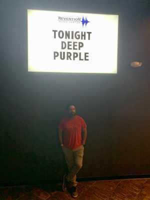 Rene attended Deep Purple: the Long Goodbye Tour on Sep 23rd 2019 via VetTix