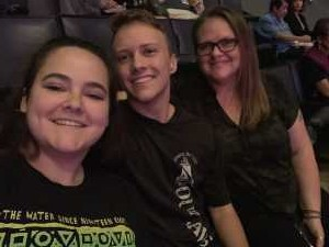Classon attended Carrie Underwood - the Cry Pretty Tour on Sep 12th 2019 via VetTix