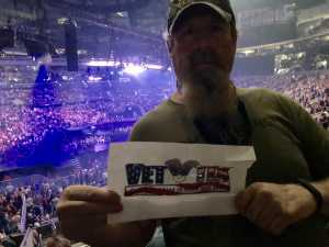 Alan attended Carrie Underwood - the Cry Pretty Tour on Sep 12th 2019 via VetTix