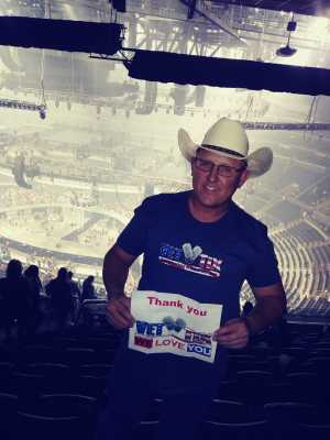 DEAN attended Carrie Underwood - the Cry Pretty Tour on Sep 12th 2019 via VetTix