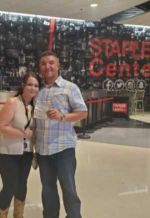Shannon attended Carrie Underwood - the Cry Pretty Tour on Sep 12th 2019 via VetTix