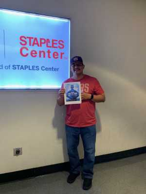 George M. attended Carrie Underwood - the Cry Pretty Tour on Sep 12th 2019 via VetTix