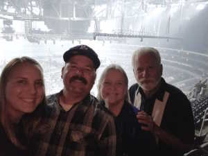 Peter attended Carrie Underwood - the Cry Pretty Tour on Sep 12th 2019 via VetTix