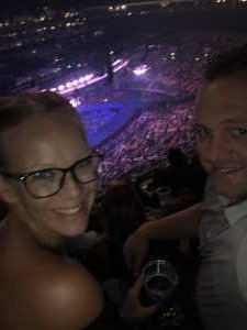 Joshua attended Carrie Underwood - the Cry Pretty Tour on Sep 12th 2019 via VetTix