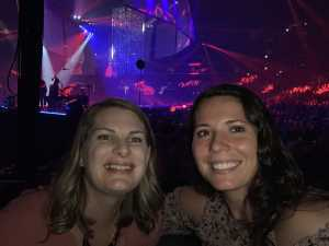 Ana attended Carrie Underwood - the Cry Pretty Tour on Sep 12th 2019 via VetTix