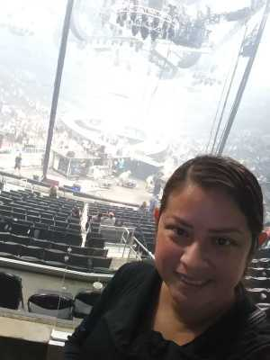 Yadira attended Carrie Underwood - the Cry Pretty Tour on Sep 12th 2019 via VetTix