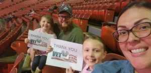 Thomas attended Carrie Underwood - the Cry Pretty Tour on Sep 10th 2019 via VetTix