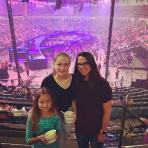justin attended Carrie Underwood - the Cry Pretty Tour on Sep 10th 2019 via VetTix