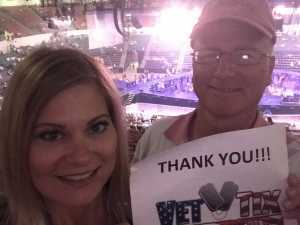 Mark attended Carrie Underwood - the Cry Pretty Tour on Sep 10th 2019 via VetTix