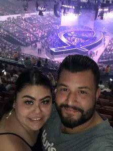 Veronica attended Carrie Underwood - the Cry Pretty Tour on Sep 10th 2019 via VetTix