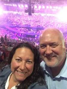 Graham attended Carrie Underwood - the Cry Pretty Tour on Sep 10th 2019 via VetTix