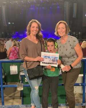 Amber attended Dierks Bentley: Burning Man 2019 on Sep 8th 2019 via VetTix