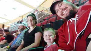 justin attended Arizona Coyotes vs. Anaheim Ducks - NHL Preseason on Sep 21st 2019 via VetTix