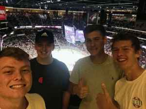Mikel attended Arizona Coyotes vs. Anaheim Ducks - NHL Preseason on Sep 21st 2019 via VetTix